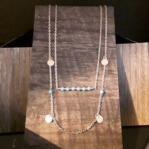 Jewelry - NEW Goldtone BOHO Turquoise Necklace